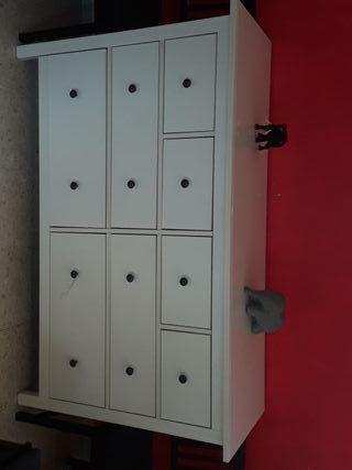 Cómoda , aparador HEMNES IKEA 8 cajones,