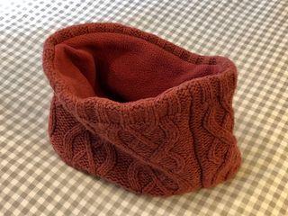 Cuello o braga de lana