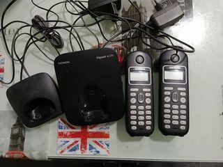 teléfonos inalámbricos Siemens Al27h