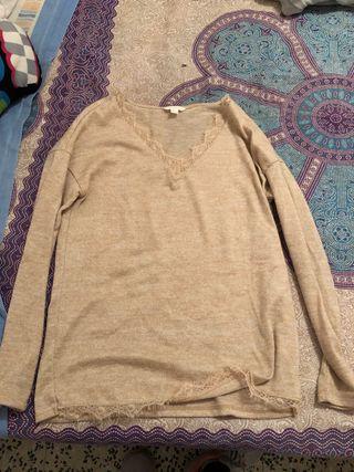 Jersey marrón claro