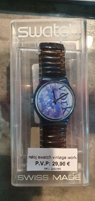 Reloj swatch vintage work