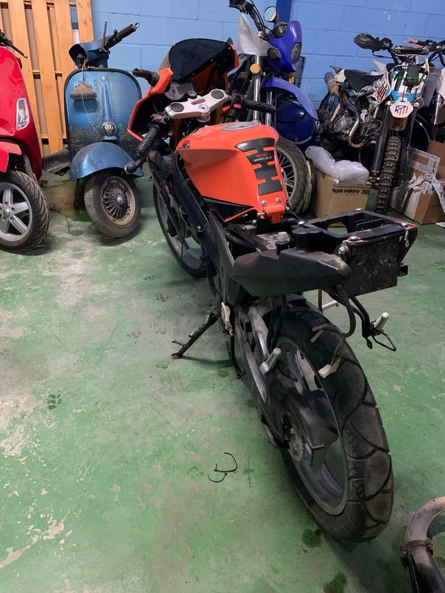 Despiece rieju rs1 50cc