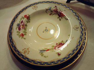 vajilla de fina porcelana inglesa