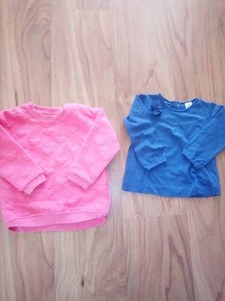 sudadera hym y camiseta zara