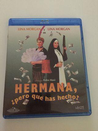Hermana ¿pero qué has hecho? Blu-ray. Lina Morgan.