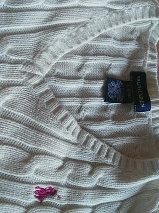 jersey de ralph lauren blanco