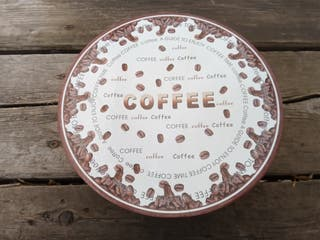 Juego de café 6 tazas 6 platillos