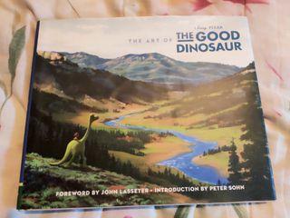 Libro de arte El viaje de Arlo (The Good Dinosaur)