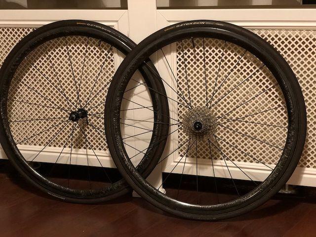 Ruedas carbono 33mm Speedsix