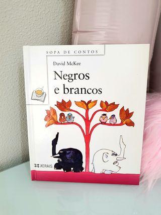 libro infantil Negros e brancos en gallego