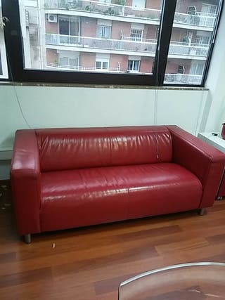 Sofa Kipplan Ikea Rojo