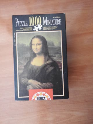 Puzzle Mona Lisa Gioconda 1000 piezas