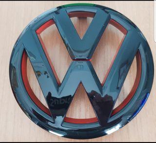 Emblema parrilla wv golf 6 , nuevo
