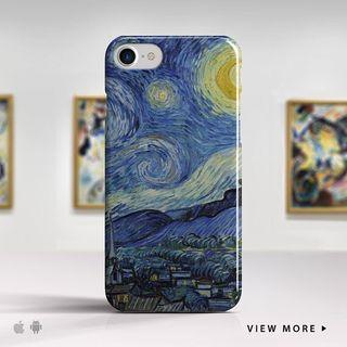 """Funda """"La Noche Estrellada"""" Van Gogh"""
