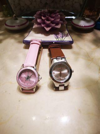 2 relojes marca Parfois