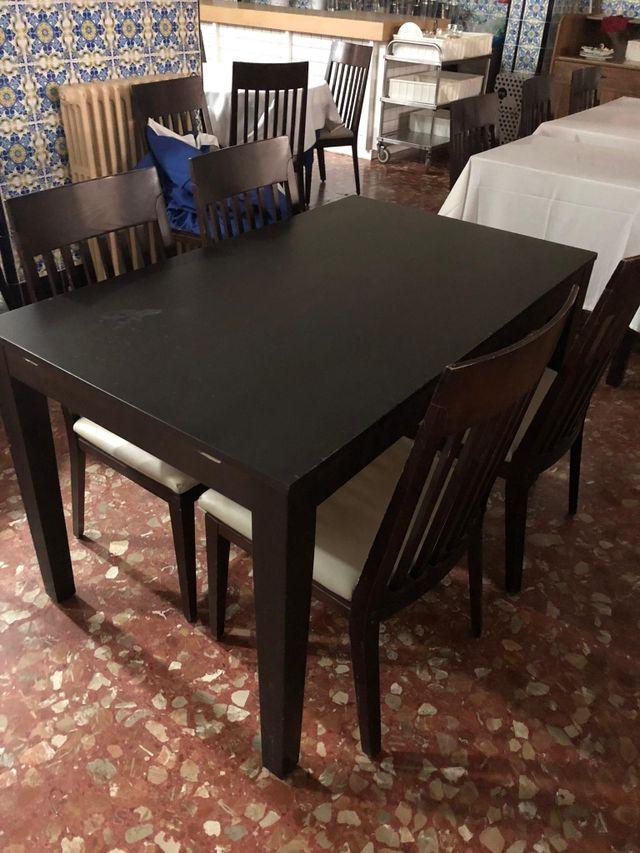 mesa comedor o bar restaurante +4 sillas