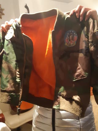 chaqueta militar niño