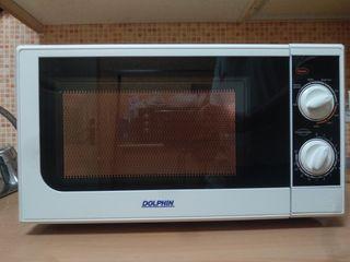 Microondas con grill. Poco usado