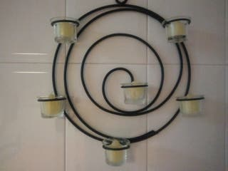 candelabro de forja