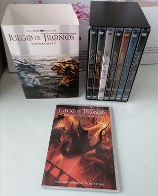 JUEGO DE TRONOS DVD 1 - 7 Completas