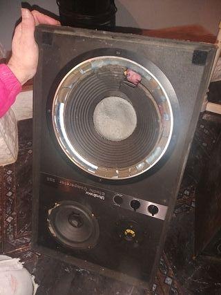 Altavoz, búfer,amplificador