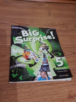 libro ingles 5° primaria Big surprise