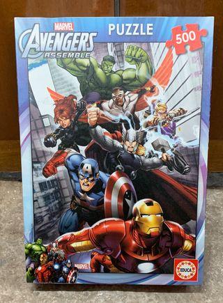 Puzzle de Los Vengadores.