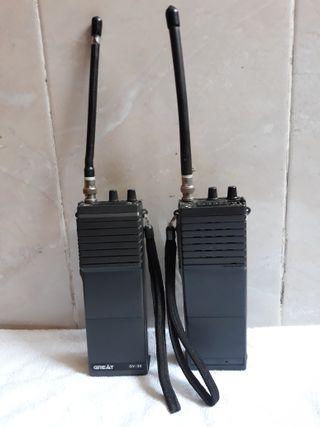 walkie talkies antiguos