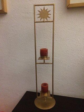 Candelabro porta velas