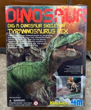 Desentierra tu dinosaurio.
