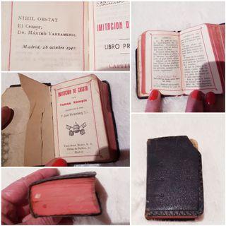 Misal antiguo 1940 Imitacion de Cristo