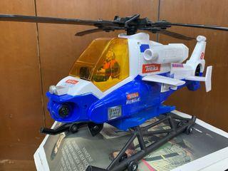 Helicóptero de rescate.