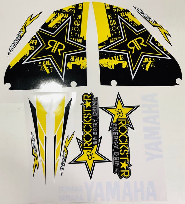 Kit Yamaha Aerox Rockstar Polini Fox