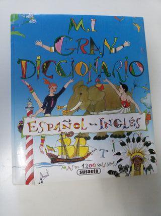 Mi gran diccionario español ingles 1200 palabras
