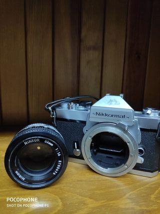 Nikon NIKKORMAT FT2 Chrome