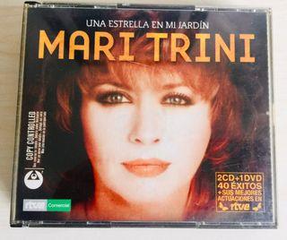 2 CD Y 1 DVD MARI TRINI Una estrella en mi jardin