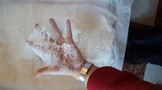 Vestido de novia completo