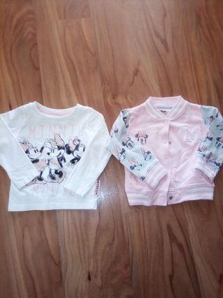 beisbolera & camiseta Minnie zara