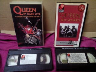 QUEEN , LOTE 2 VHS