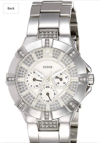Guess ladies watch vista W12080L1
