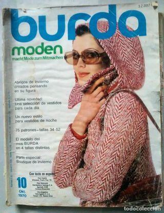lote revistas burda para Ruben G.