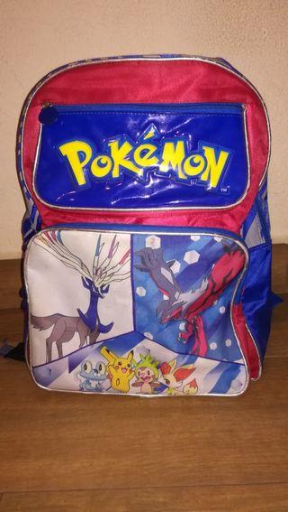 mochila de Pokémon