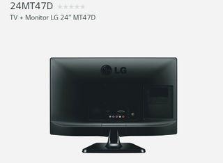 Televisión LG 24 pulgadas