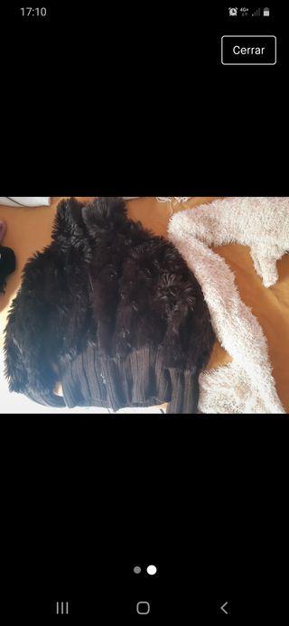 Chaqueta de pelo largo