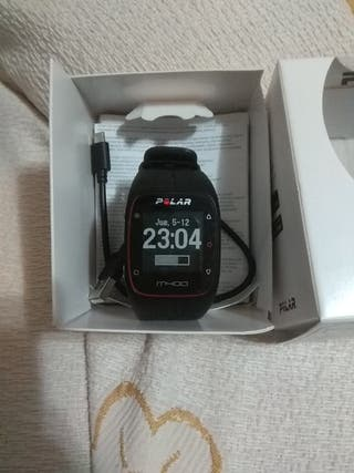 polar m400 y banda hr7