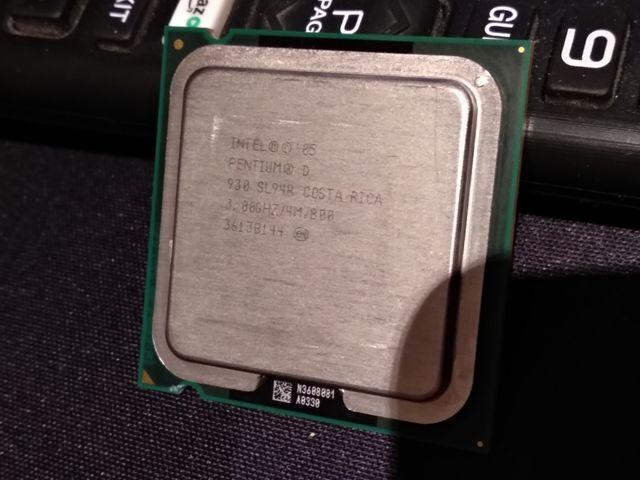Procesador Pentium D doble núcleo