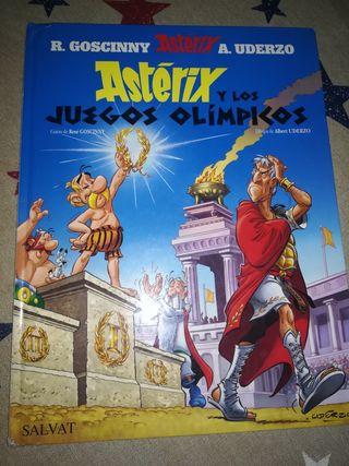 COMIC Asterix en los juegos olímpicos.