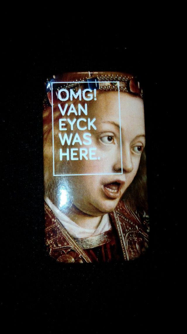 Iman de nevera del pintor jan van eyck