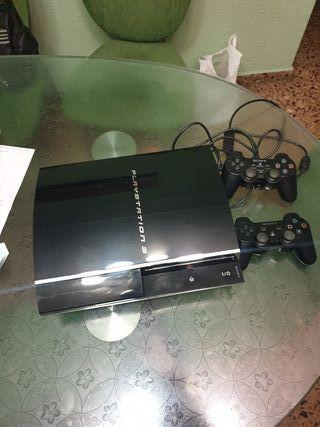 PS3 + 2 Mandos + 7 Juegos