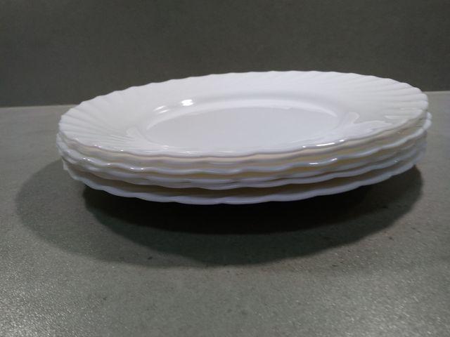 6 platos llanos
